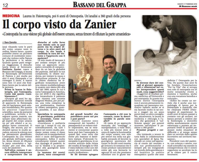 osteopatia gravidanza mamma bambino fisioterapia domicilio emiplegia parkinson Bassano Rosà Marostica Cittadella Nove Pove